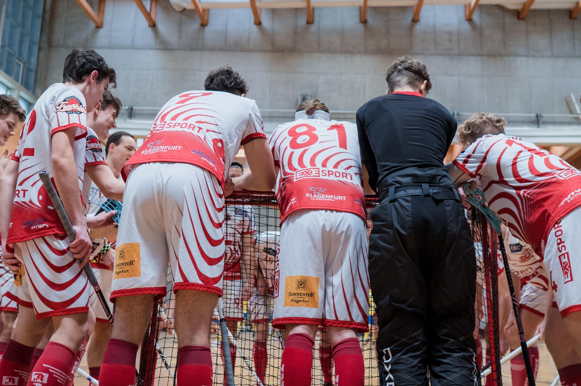Der KAC Floorball steht im Super Cup Finale!